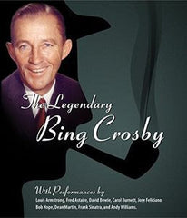 Bing Crosby: The Legendary Bing Crosby 1954-1977 DVD 2014 Guests  Louis Armstrong, Jose Feliciano, Carol Burnett, Frank Sinatra, Dean Martin, Bob Hope, Andy Williams & David Bowie