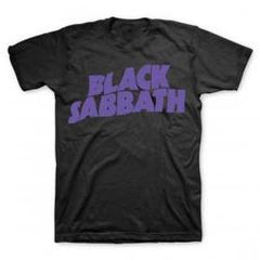 "Black Sabbath Logo T-Shirt ""Band Licensed Logo"" 100% Cotton Close-out Medium Only"