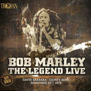 Bob Marley: The Legend Live Santa Barbara County Bowl 1979 Deluxe CD/DVD 2016 12-02-16 Release Date
