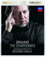 Gewandhausorchester Leipzig: Brahms: The Symphonies (Blu-ray) 2014 Pure Fidelity Pure Audio 96kHz/24bit DTS-HD Master Audio