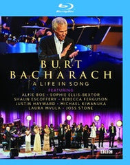 Burt Bacharach: A Life In Song Royal Festival Hall 2015 (Blu-ray) 2016 DTS-HD Master Audio 02/26/16 Release Date