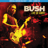 Bush: Live In Tampa 2019 ( CD/DVD/Blu-ray) 2020 Filmed in 4K 90 Minutes Release Date 4/24/20