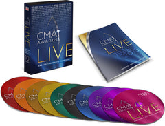 CMA Awards Live: Greatest Moments: 1968-2015 TIME LIFE (Boxed Set 10 DVD'S) 2019 Release Date 9/3/19