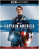 Captain America: The First Avenger (4K Ultra HD+Blu-ray+Digital 2019 Dolby AC-3 02/26/19