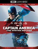 Captain America: The Winter Soldier (4K Ultra HD+Blu-ray+Digital) 2 Pack Dolby AC-3 Rated: PG13 2019 Release Date 4/23/19