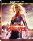 Captain Marvel: (4K Ultra HD+Blu-ray+Digital) Rated  PG13 2019 Release Date 6/11/19