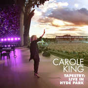 Carole King: Tapestry: Live in Hyde Park 2016 45th Anniversary (CD/Blu-ray) DTS-HD Master Audio 2017 09-15-17 Release Date