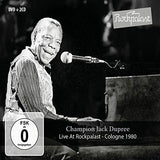 Champion Jack Dupree: Live At Rockpalast Cologne 1980 (DVD+2CD) 2017 Release Date: 3/10/2017