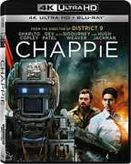 Chappie [4K Ultra HD + Blu-ray]  (With Blu-Ray, Ultraviolet Digital Copy, 2PC) 2016 03-01-16 Release Date
