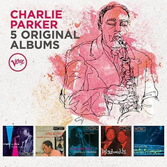 Charlie Parker: 5 Original Albums Night And Day (1957) April In Paris (1957) Now's The Time (1957) Charlie Parker/Dizzy Gillespie: Bird And Diz (1957) Plays Cole Porter (1957)  (Boxed Set, 5PC) CD 2018 Release Date 6/29/18