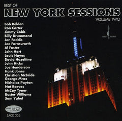 Best Of New York Sessions, Vol. 2 Artist: Various Chesky Records SACD Release Date 2/16/10