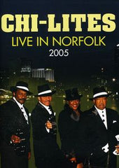 Chi-Lites: The Chi-Lites Live In Norfolk 2005 DVD 2011 16:9 DTS 5.1