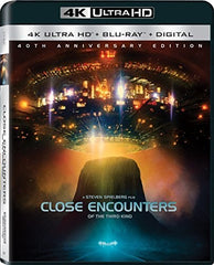 Close Encounters of the Third Kind 40th Anniversary Edition  Blu-Ray, Ultraviolet Digital Copy, 4K Mastering 09/19/17 Release Date