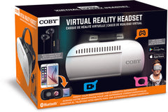 Coby CVG-02-EB Virtual Reality Goggles With Metal Earbuds