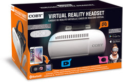Coby CVG-02-RC Virtual Reality Goggles With Wireless Bluetooth Remote