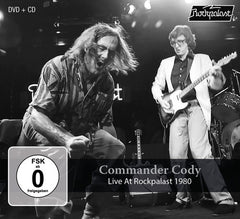 Commander Cody: Live At Rockpalast WDR Studios 1980 CD/DVD Release Date 3/8/19