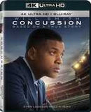 Concussion [4K Ultra HD + Blu-ray]  (With Blu-Ray, Ultraviolet Digital Copy, 2PC) Starring: Will Smith 2015 03-29-16 Release Dare