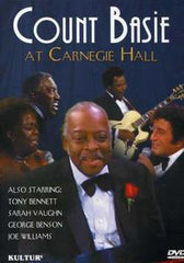 Count Basie: Live At Carnegie Hall 1981 DVD 2004 Dolby Digital 5.1 Count Basie, Sarah Vaughan, Tony Bennett, Joe Williams & George Benson