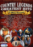 Country Legends Greatest Hits: 50 Mini Concerts DVD 2012 4 DVD Deluxe Edition