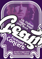 Cream: Cream Farewell Concert Royal Albert Hall 1968 DVD 2013 Dolby Digital 5.1