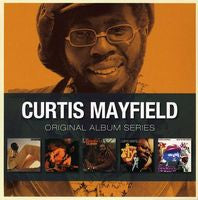 Curtis Mayfield: Original Album Series 5 CD Editions 2012