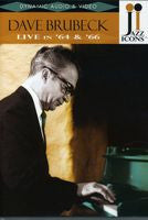 Dave Brubeck: Live In '64 & '66 DVD 2007 Jazz Icons Series Stereo