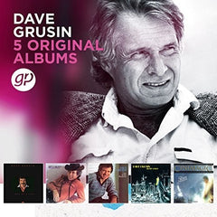 Dave Grusin: 5 Original Albums (Boxed Set 5 CD) 2018 Release Date 6/29/18