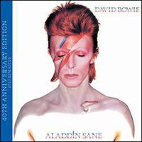 David Bowie: Aladdin Sane 40th Anniversary Edition 2 CD 2013 Includes Aladdin Album Cover Front