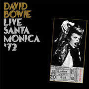 David Bowie: Live In Santa Monica Civic Auditorium '72 Limited Double 180 Gram LP Pressing 06-17-16 Release Date Includes Free Shipping