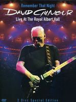 David Gilmour: Remember That Night-Live At The Royal Albert Hall 2006 2 DVD Edition 2007 16:9 DTS 5.1