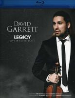 David Garrett: Legacy Live In Baden-Baden w/The National Philharmonic Of Russia (Blu-ray) 2012