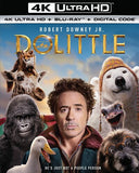 DOLITTLE (4K Ultra HD+Blu-ray+Digital Copy) Rated: PG 2020 Release Date: 4/7/2020