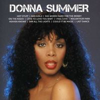 Donna Summer: Icon CD 2013  Includes 11 of Her greatest recordings including 'On The Radio', 'She Works Hard For The Money', 'Last Dance', I Feel You' and many more.