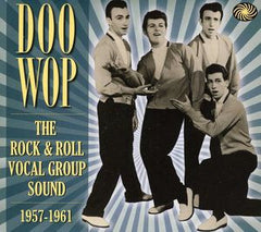 DOO WOP: The Rock & Roll Vocal Group Sound 1957-1961 3 CD Import GBR 2012 96 Tracks-Yes 96!!
