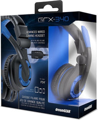 DreamGear GRX-340 Advanced Wired Gaming Headset for PlayStation 4