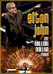 Elton John: The Million Dollar Piano Live Caesar's Palace Las Vegas 2014 DVD 2014 16:9 DTS 5.1
