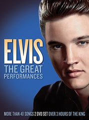 Elvis: The Great Performances 3 Documentary Films (2PC) DVD 2018 Release Date 5/25/18
