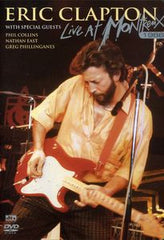 Eric Clapton: Live At Montreux 1986 DVD 2006 Guests Phil Collins & Nathan East 16:9 DTS 5.1