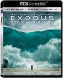 Exodus: Gods and Kings [4K Ultra HD + Blu-ray + Digital HD] 2016 03-01-16 Release Date