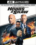 Fast & Furious Presents: Hobbs & Shaw (4K Mastering, With Blu-ray, 2 Pack)  4K Ultra HD Rated: PG13 Release Date 11/5/19
