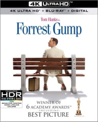 Forrest Gump: Academy Award Best Picture 1994 4K Ultra HD Blu-ray -Digital  Dolby, AC-3 2018 Release Date  06/12/18