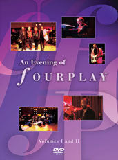 Fourplay: An Evening Of Fourplay Volumes 1-2 1994 DVD 2005 Guests Chaka Khan, Phillip Bailey & Phil Perry