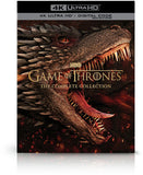 Game of Thrones: The Complete Collection (4K Ultra HD+Blu-ray+Digital) 73 Episodes on 33 Discs 63 hrs Rated: NR Release Date: 11/3/2020