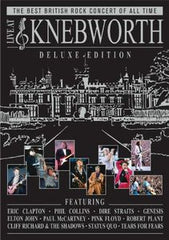 Live At Knebworth 1990 Deluxe Edition 2-CD 2-DVD 2010 Cliff Richard, Dire Straits, Elton John, Eric Clapton, Genesis, Paul McCartney, Phil Collins, Pink Floyd, Robert Plant, Status Quo, Tears for Fears