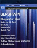 Gershwin: Rhapsody In Blue (Blu-ray) 2013 High Fidelity Pure Audio 96kHz/24bit DTS-HD Master Audio