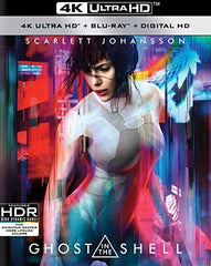 Ghost In The Shell: 4K Ultra HD Blu-ray-Digital HD 2017 07-25-17