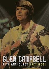 Glen Campbell: Live Anthology 1972-2001 Deluxe Edition CD/DVD 2012 Re-Release 2017 09-08-17