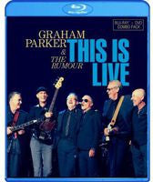 Graham Parker & The Rumour: This Is Live- Belasco Theater in Los Angeles 2012 (Blu-ray + CD) 2 Discs 2013 DTS-HD Master Audio