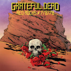 Grateful Dead Live Red Rocks 7 8 78 3 Cd Special