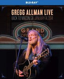 Gregg Allman Live: Back To Macon, GA. Grand Opera House 2014 (Blu-ray) 2015 DTS-HD Master Audio 08-07-15 Release Date